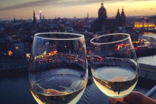3x high wine in Amsterdam