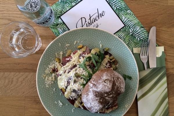 Lekker eten bij Pistache café