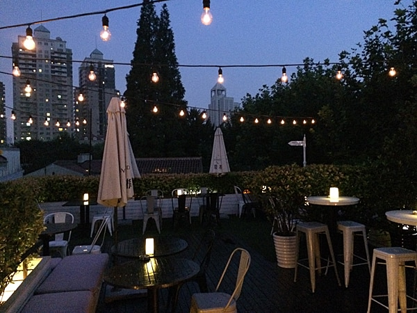 De beste rooftop bars in Shanghai