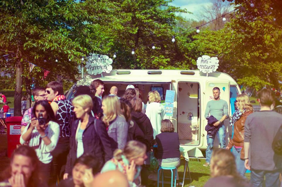 Event: Rollende Keukens 2015, Amsterdam