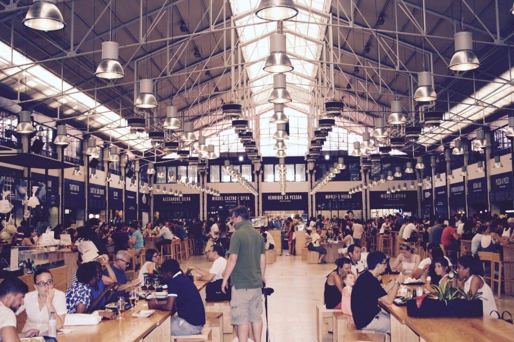 Mercado da Ribeira Time Out foodhal Lissabon