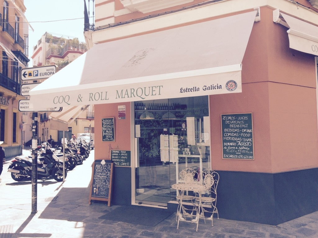 Coq and Roll Market in Sevilla