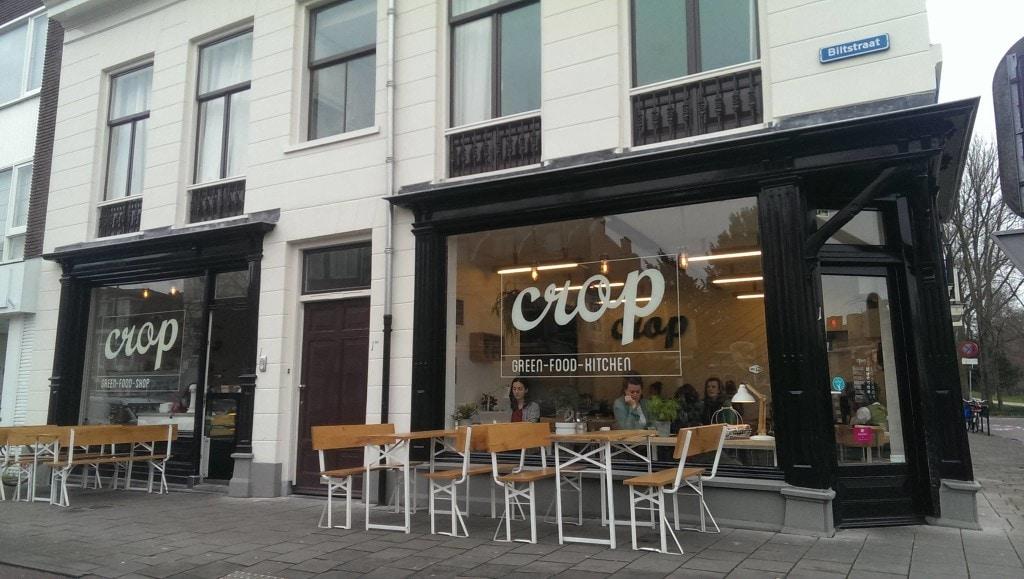 Crop aan de Biltstraat in Utrecht