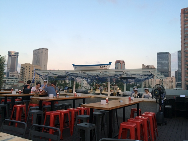 De beste rooftop bars in Shanghai